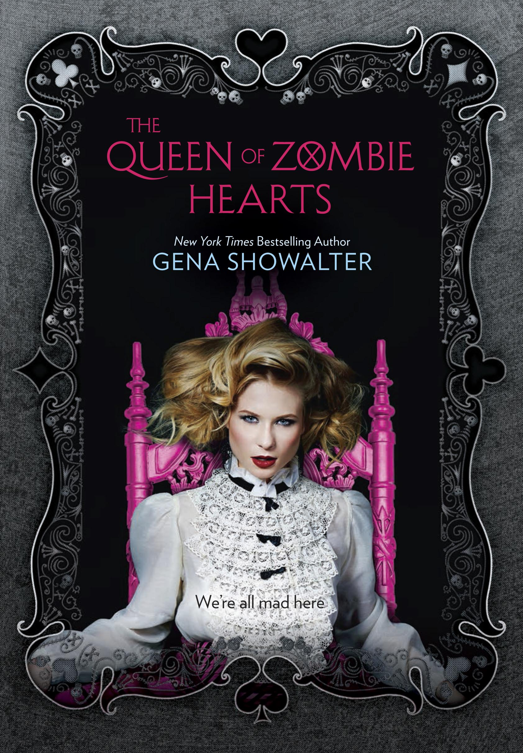 Book Cover White Queen : Alice in zombieland by gena showalter royalbibliophile